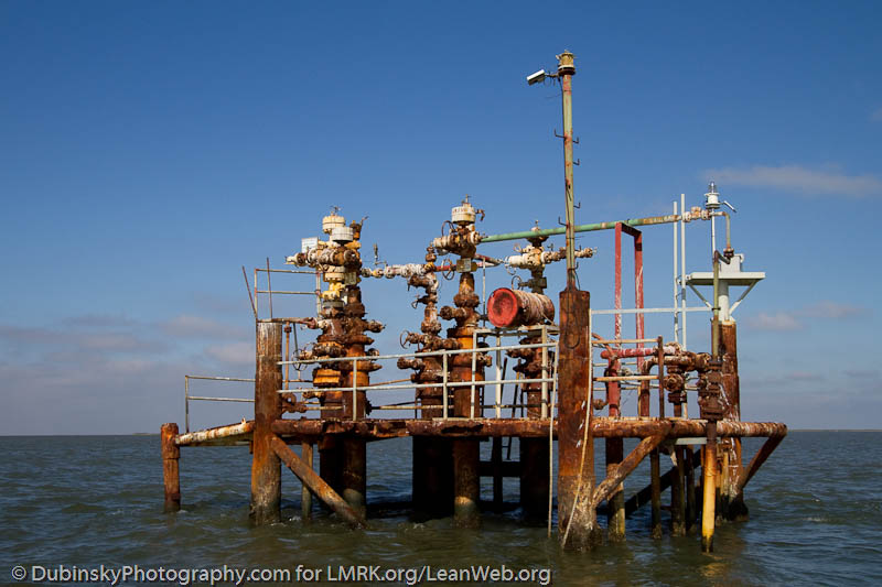 Deteriorating oil and gas industry infrastruture